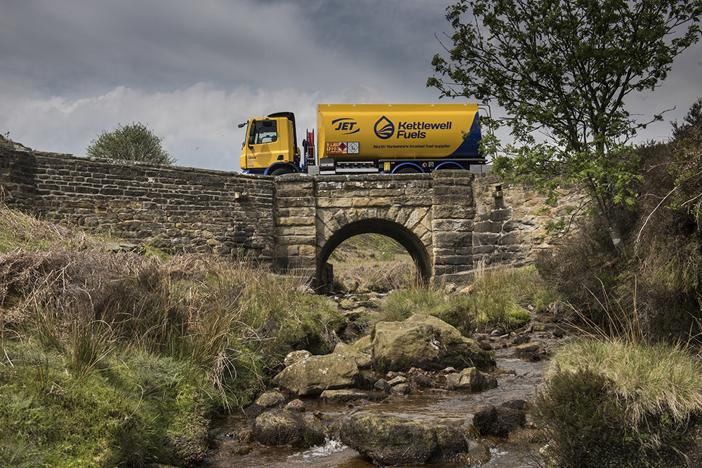 Kettlewell Fuels Truck Yorkshire